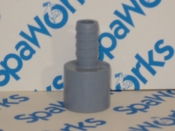 6540-024 Adapter: 1/2in SP x 3/8 Barb (HTA Jets 04/01/2001+)