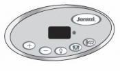 2600-331 Control Panel: J300 LED 1-PUMP