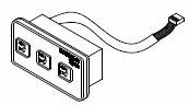 1999 850 Maxxus Remote Control Panel