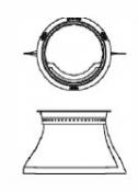 "2540-389 Filter: PROPOLISH® BAG, 5"""