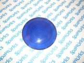 6540-452 Light: Lens Blue Serviceable Light