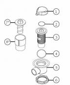 6540-522 Air Controls Light Rings: O-Ring (2007+)