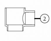 6541-284 Air Controls-Single: Manifold (2007+)