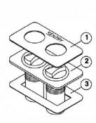 6530-333 Air Controls-Dual: Overlay
