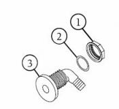 6540-228 Air Injector: O-Ring (1995+)
