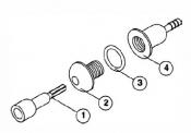 6540-234 Ultem Injector (1988-1995) !!! OBSOLETE !!!