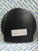 102355 Skimmer Lid: ABS Black Shell Shaped (1994-1995)