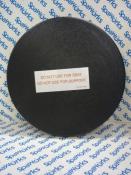 """102358 Skimmer Lid: ABS Black 11 1/2"""" Round (1993)"""
