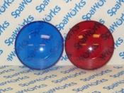 6560-268 Light Lens Set (Red and Blue): Aquaquip Light Lens (1984-1993)