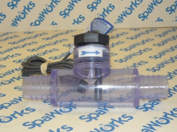 6560-857 Flow Switch w/ Transparent Tee Fitting