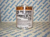Spa-Tite PVC Cement 32oz.