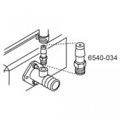 Adapter: MPT 1/8 x 3/8 Barb (New metal version)