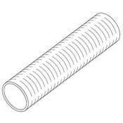 Hose: Clear 9/16in x 1ft Long