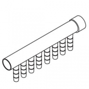 Manifold: Air 8 Barb 3/8in x 1
