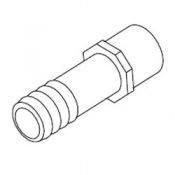 Adapter: 3/4in S x 3/4in Barb