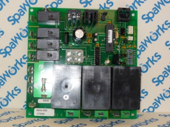 Circuit Board: 1998+ 1-PUMP 680/780/850E/SWEETWATER®/SUNTUB® Systems