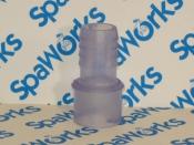 Adapter Fitting: 3/4 Spigot x 3/4 Barb (2002-2006 J-300 Series, 2007+ J-200 Series)