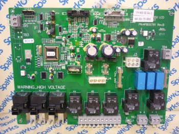 6600-398 Circuit Board: 2012+ 880 3-Pump Spas